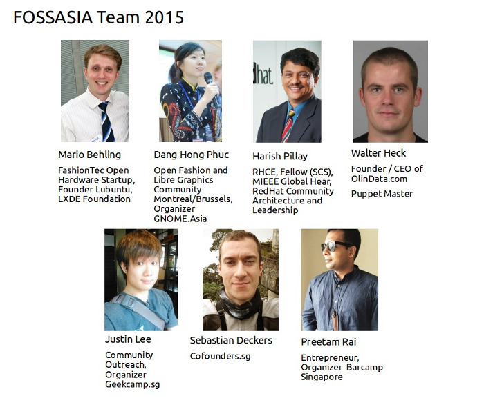 FOSSASIA 2015 Team