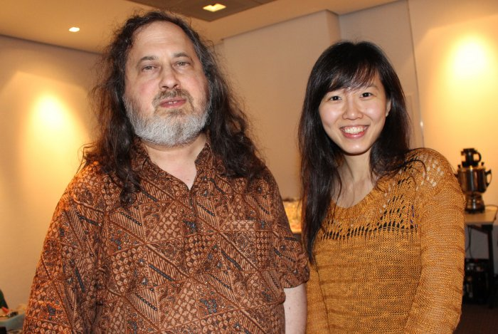 Richard Stallman FOSSASIA's Hong Phuc Dang, Free Software and Open Source