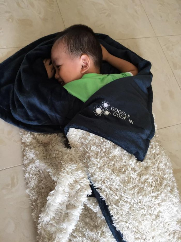 "Sleeping peacefully - Nephew of Michael Cheng: Mentor's Family Enjoying ""Open Source"" Thank you package"